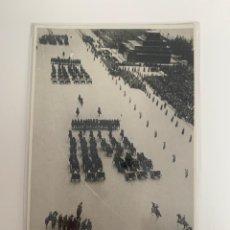 Postales: RUSIA. DESFILE MILITAR DEL DÍA 1º DE MAYO DE 1935. ORIGINAL DE ÉPOCA.. Lote 271019503