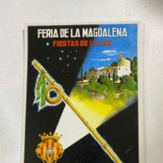 Postais: TARJETA POSTAL. CASTELLÓN. FERIA Y FIESTAS. FESTEJOS DE LA MAGDALENA DE 1966. ED. JUNTA CENTRAL. Lote 271550038