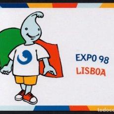 Postais: POSTAL GIL MASCOTA EXPO 98 LISBOA. Lote 275210293