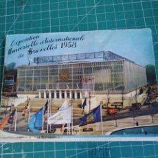 Postales: LOTE 10 POSTALES. EXPOSICIÓN UNIVERSAL BRUSELAS 1958. Lote 276187128