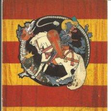 Cartes Postales: POSTAL BANDERA DE LA UNIÓ CATALANISTA (1904) - ALEXANDRE DE RIQUER - MUSEU DE MONTSERRAT. Lote 276716648
