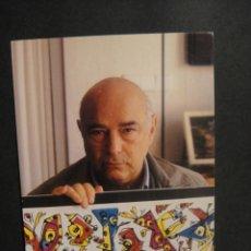 Postales: UN MURAL PARA ARAAGON - ANTONIO SAURA - EXPOSICION EN ALCAÑIZ AÑO 1998. Lote 278269488