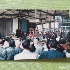 Postales: POSTAL EXPOSICIÓN UNIVERSAL INTERNACIONAL BRUSELAS 1958. DANZAS DE ESPAÑA EN EL PABELLÓN. Lote 280816718