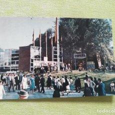 Postales: POSTAL EXPOSICIÓN UNIVERSAL INTERNACIONAL BRUSELAS 1958. VISTA EXTERIOR DEL PABELLÓN.. Lote 280816958