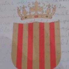 Postales: POSTAL COMPROMISO DE CASPE. AYUNTAMIENTO DE CASPE (A7). Lote 289749478