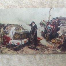 Postales: F. PRADILLA - DOÑA JUANA LA LOCA - SERIE PINTURA HISTORIA Nº4 - ED. INSTITUTO DE FARMACOBIOLOGIA. Lote 291427243