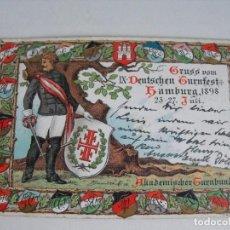 Postais: ALEMANIA. 1898.. Lote 292026653