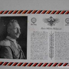 Postales: ALEMANIA, 1913. Lote 292089083