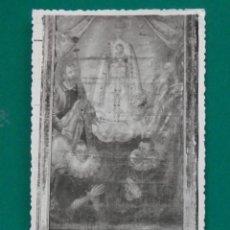 Postales: CERVANTES RARA POSTAL FOTOGRÁFICA AÑO 1944 CUADRO DEL ESCRITOR. Lote 293302018
