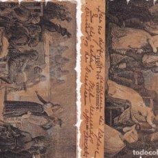 Postales: LOTE DE 2 POSTALES HISTORIA FRANCESA. FRANCIA. REVERSO SIN DIVIDIR.. Lote 293446793