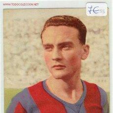 Coleccionismo deportivo: CROMO POSTAL BIOSCA F.C.BARCELONA. Lote 32053253