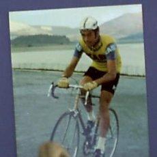 Coleccionismo deportivo: CICLISMO. NEMESIO JIMÉNEZ. EQUIPO KAS. 1973.. Lote 26676109