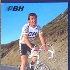 Coleccionismo deportivo: CICLISMO. M. DURANT. EQUIPO BH. BICICLETAS. TEMPORADA, 1987. Lote 24891450