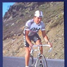 Coleccionismo deportivo: CICLISMO. J. DOMINGUEZ. EQUIPO BH. BICICLETAS. TEMPORADA, 1987. Lote 24891455
