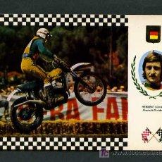 Collezionismo sportivo: *PUCH. AUSTRIA* ED. ESCUDO DE ORO. SERIE *MOTOCROSS II* Nº 17. NUEVA.. Lote 5257745