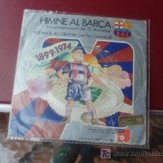 Coleccionismo deportivo: DISCO DEL 75 ANIVERSARIO DEL F.C.BARCELONA. Lote 26916163