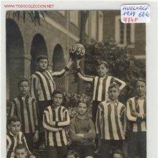 Coleccionismo deportivo: FOOT-BALL HUELVA C.F.POSTAL AÑO 1919. Lote 1833323