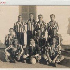 Coleccionismo deportivo: POSTAL EQUIPO AÑOS 20 EN LARACHE. Lote 1796197