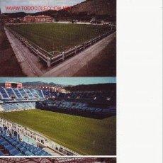 Coleccionismo deportivo: LOTE DE 18 POSTALES DE ESTADIOS CJMG. Lote 23592898