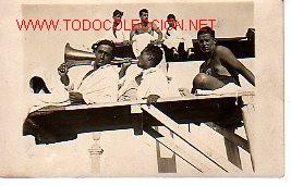 TARJETA POSTAL DELOS CAMPEONATOS DE CATALUÑA (Coleccionismo Deportivo - Postales de otros Deportes )