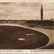 Coleccionismo deportivo: POSTAL ESADIO OLÍMPICO DE AMSTERDAM, 1928. ORIGINAL DE ÉPOCA. . Lote 16146030