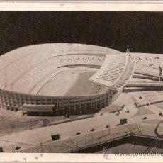 Coleccionismo deportivo: ANTIGUA POSTAL MAQUETA DEL NUEVO ESTADIO DEL F.C.BARCELONA Nº 4 EDITORIAL ARTIGAS. Lote 26672996