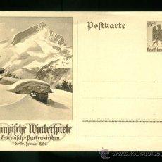 Coleccionismo deportivo: POSTAL DE LAS OLIMPIADAS DE BERLIN 1936. Lote 26970918
