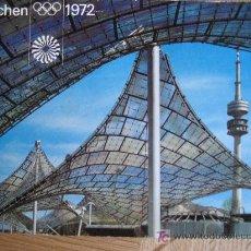 Coleccionismo deportivo: MÜNCHEN 1972. CIRCULADA . Lote 25493633