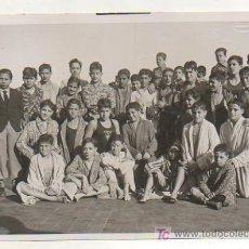 Coleccionismo deportivo: FOTOGRAFÍA ORIGINAL. 1935. FESTIVAL NATACIÓN INFANTIL PREMIO REYES EN LA PISCINA DEL C. N. BARCELONA. Lote 15637846