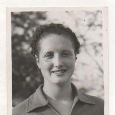 Coleccionismo deportivo: FOTOGRAFÍA ORIGINAL. 1935. NATACIÓN. 'CARMEN SORIANO'.. Lote 15638841