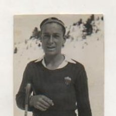 Coleccionismo deportivo: FOTOGRAFÍA ORIGINAL. 1935. ESQUÍ. 'ORIOL CANALS', CAMPEÓN DE CATALUNYA DE ESQUÍ DE FONDO.. Lote 15639137