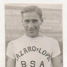 Coleccionismo deportivo: FOTOGRAFÍA ORIGINAL. CICLISMO. EL CICLISTA 'JOSEP CEBRIAN FERRER'. 16 X 11 CM. 1934. BSA. Lote 15646086