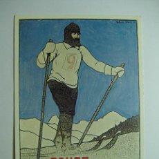Coleccionismo deportivo: 3066 ESQUI SKY DAVOS SUIZA CARTELES COPIA REPRO AÑOS 1980 - MAS DE ESTA CIUDAD EN MI TIENDA C&C. Lote 16548859