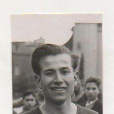 Coleccionismo deportivo: FOTOGRAFÍA ORIGINAL. 1935. ATLETISMO. GUANYADOR DE LA PROVA DE NEOFITS. JEAN BOUIN. 10 X 7 CM.. Lote 16561162