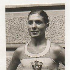 Coleccionismo deportivo: FOTOGRAFÍA ORIGINAL. 1933. ATLETISMO. MANUEL ANDREU. GUANYADOR DE LA XIV JEAN BOUIN.. Lote 16561312