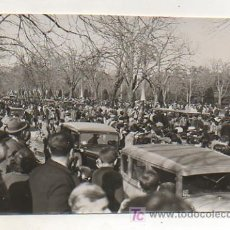 Coleccionismo deportivo: FOTOGRAFÍA ORIGINAL. 1936. ATLETISMO. XVII JEAN BOUIN. EL PASSEIG DELS TILERS DEL PARC DE LA CIUTADE. Lote 16561533