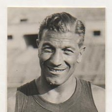 Coleccionismo deportivo: FOTOGRAFÍA ORIGINAL. 1936. ATLETISMO. JOAQUIM ROCA. 11,5 X 8 CM. BARÇA. Lote 16561593