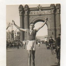 Coleccionismo deportivo: FOTOGRAFÍA ORIGINAL. 1935. ATLETISMO. MARCELÍ CASTELLÓ. 15 X 11 CM.. Lote 16561660