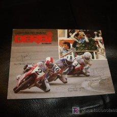 Coleccionismo deportivo: FOTO POSTAL DE PILOTOS ESPAÑOLES DERBI ASPAR,ANGEL NIETO,HERREROS. Lote 132193507