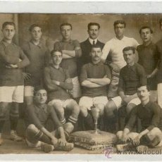 Coleccionismo deportivo: (5169-F)POSTAL FOTOGRAFICA EQUIPO FOOT-BALL F.C.ESPAÑA AÑO 1909. Lote 16995336