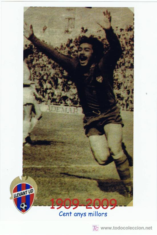 CENTENARI LLEVANT - CASZELI / GOL - GRANOTES FOREVER (Coleccionismo Deportivo - Postales de otros Deportes )