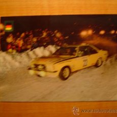 Coleccionismo deportivo: POSTAL SERIE AUTOMOVILES RALLYE Nº 5 OPEL COMODORE(VERSION RALLY MONTECARLO). Lote 20421593