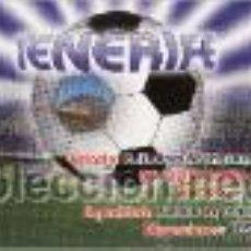 Coleccionismo deportivo: CALENDARIO BOLSILLO TENERIFE C F. AÑO 2010. Lote 20534557