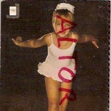 Coleccionismo deportivo: POSTAL A COLOR Nº 1 1ª SERIE DE DEPORTES AÑO 1970 NIÑA BALET CLASICO ESCUDO DE ORO ESCRITA. Lote 21705816