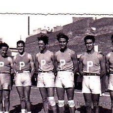 Coleccionismo deportivo: POSTAL EQUIPO BALONCESTO PATRIA . Lote 23604575