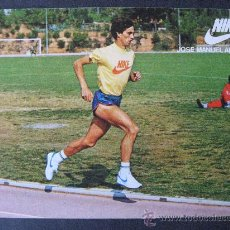 Coleccionismo deportivo: POSTAL DE JOSE MANUEL ABASCAL,ATLETISMO.NIKE.. Lote 24972993