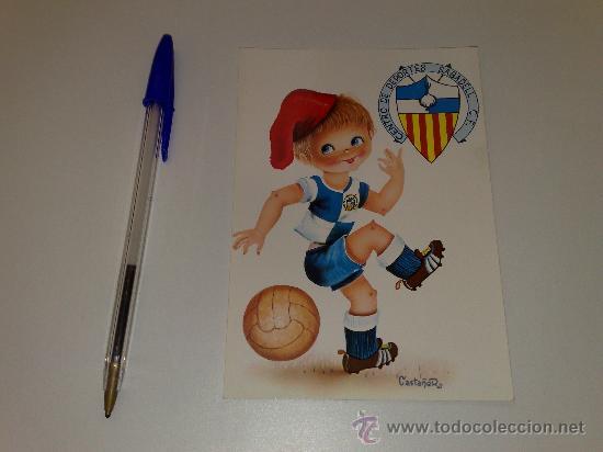 ANTIGUA POSTAL DEL C.D. SABADELL. AÑOS 70 (Coleccionismo Deportivo - Postales de otros Deportes )