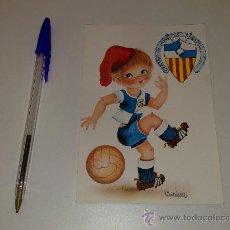 Coleccionismo deportivo: ANTIGUA POSTAL DEL C.D. SABADELL. AÑOS 70. Lote 26711115