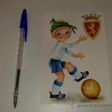 Coleccionismo deportivo: ANTIGUA POSTAL DEL REAL ZARAGOZA. AÑOS 70. Lote 26711138