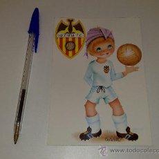 Coleccionismo deportivo: ANTIGUA POSTAL DEL VALENCIA C.F. AÑOS 70. Lote 26711181